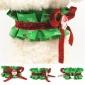 圣诞系列 宠物项圈 金属扣狗链 猫脖圈 宠物用品 批发
