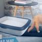 厂家直销蜂窝双层防水 宠物猫砂垫 高弹EVA 干净卫生防滑垫 宠物