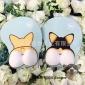 现货批发硅胶鼠标垫/柯基屁股护腕鼠标垫厂家可定制DIY大胸鼠标垫